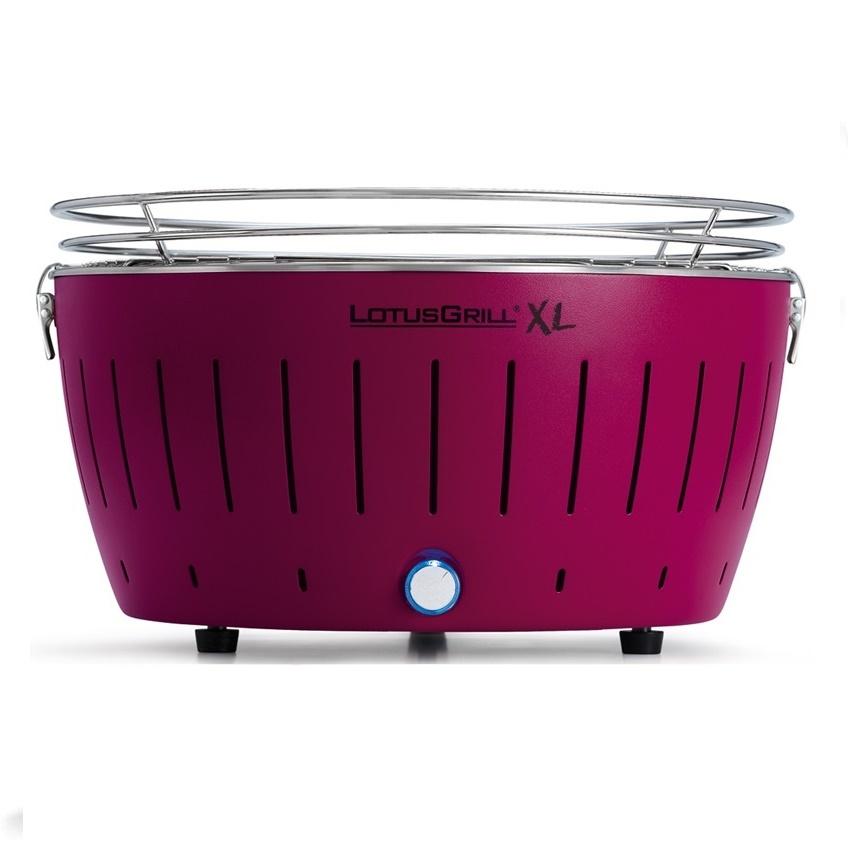 LotusGrill - XL Purple + 1 kg uhlí + gelový podpalovač